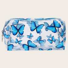 Butterfly Clear Makeup Bag