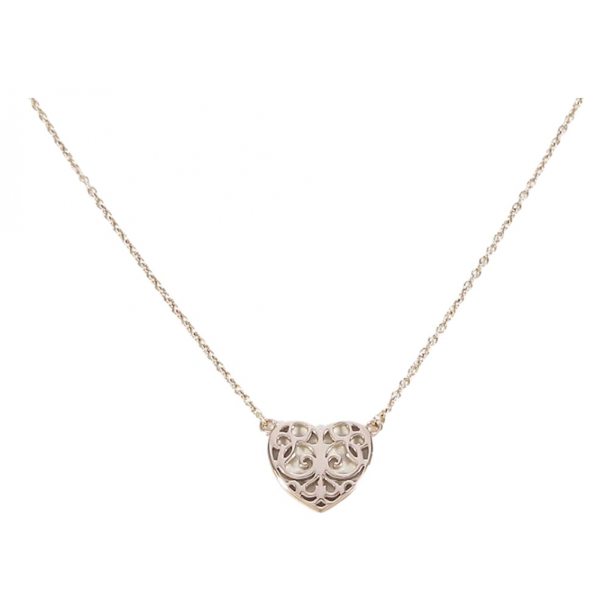 Tiffany & Co - Collier   pour femme en metal - dore
