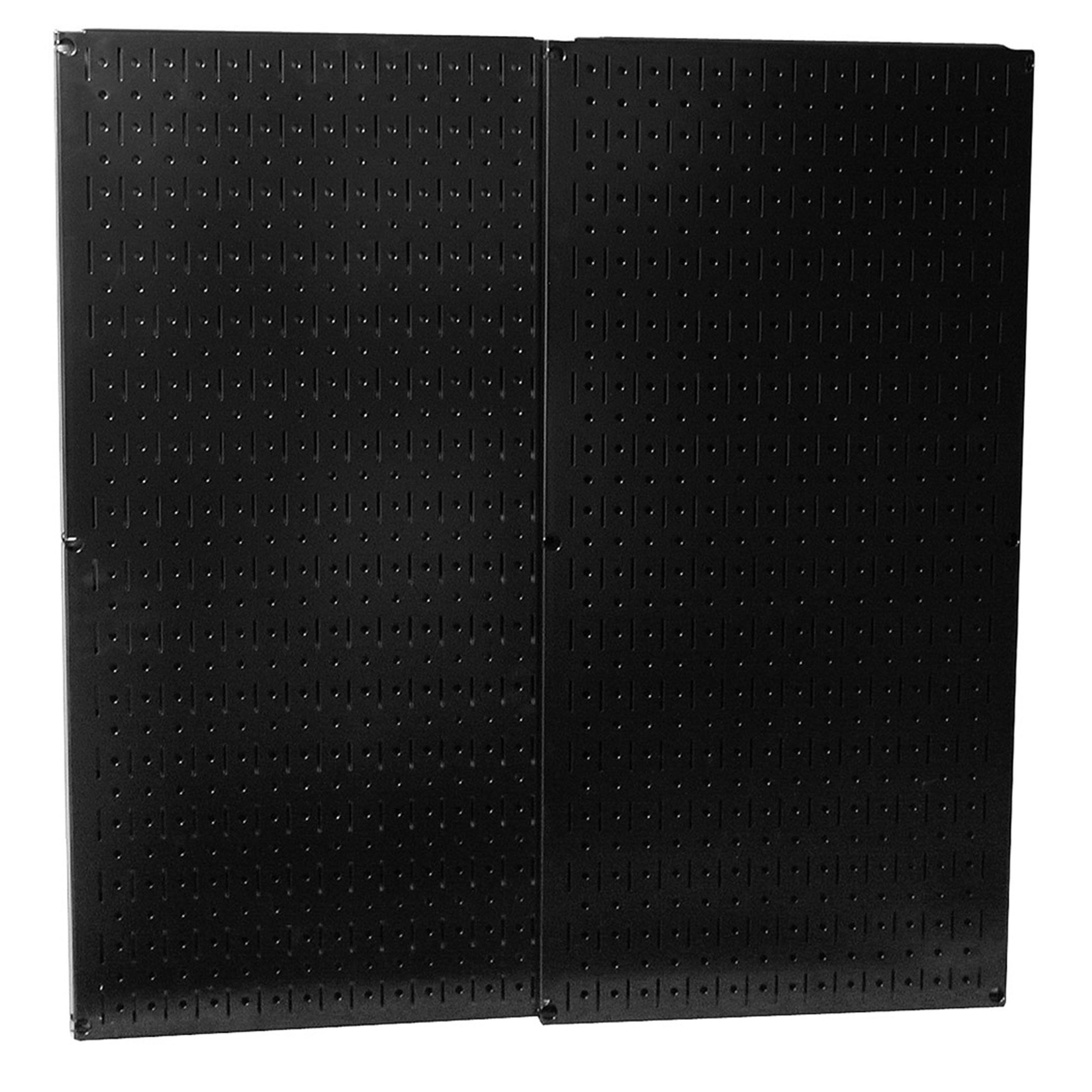 Black Metal Pegboard Pack - Two Pegboard Tool Boards