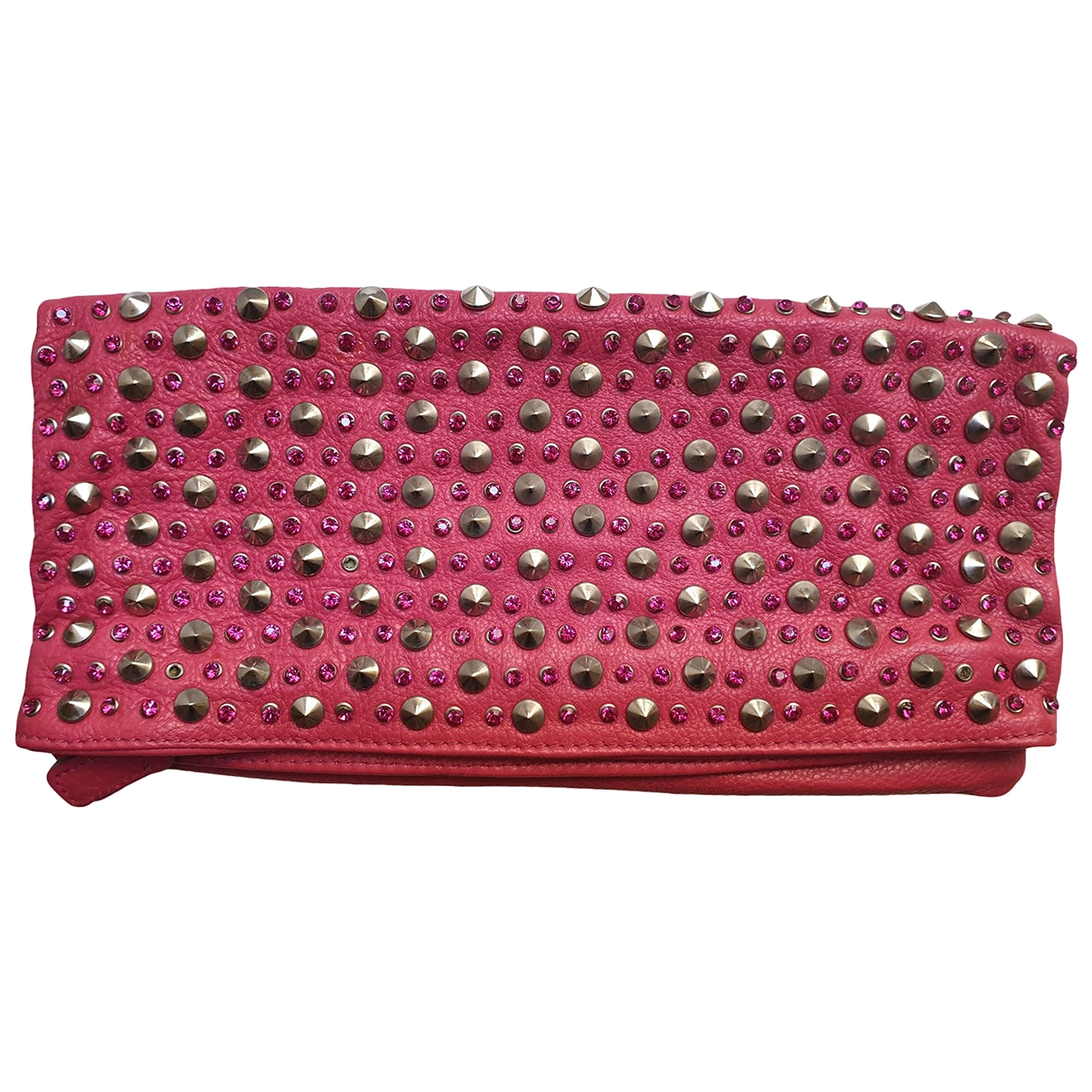 Non Signé / Unsigned \N Multicolour Leather Clutch bag for Women \N