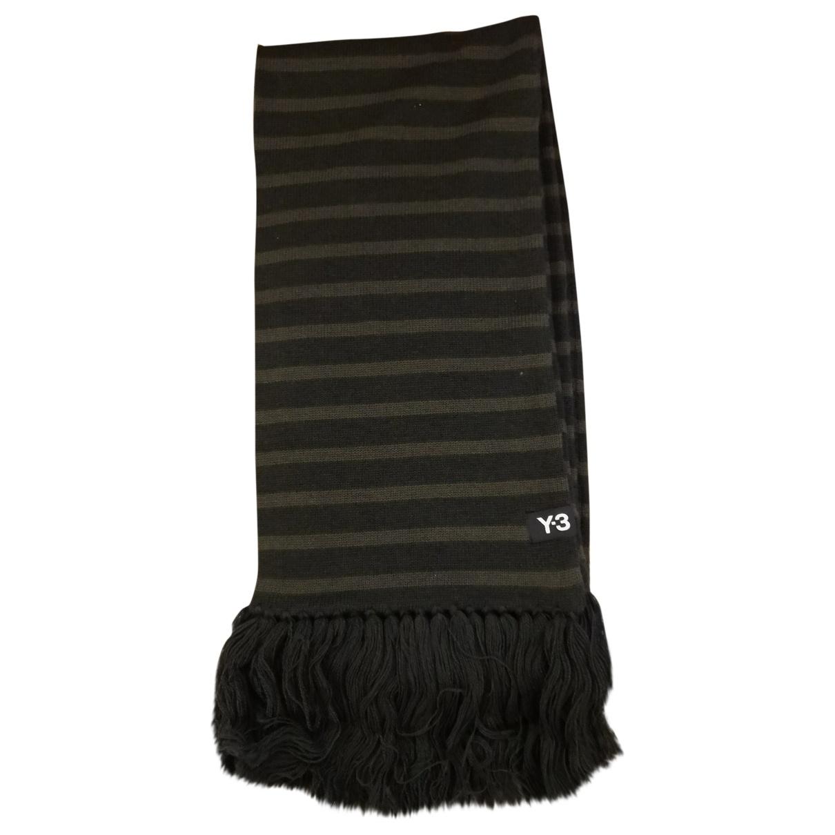 Y-3 - Cheches.Echarpes   pour homme en laine - noir