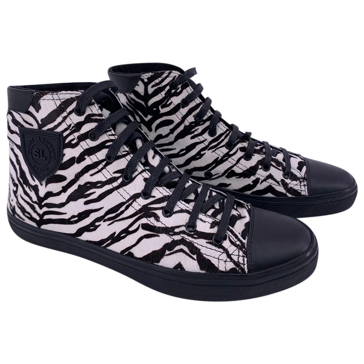 Yves Saint Laurent \N Sneakers in  Bunt Leder