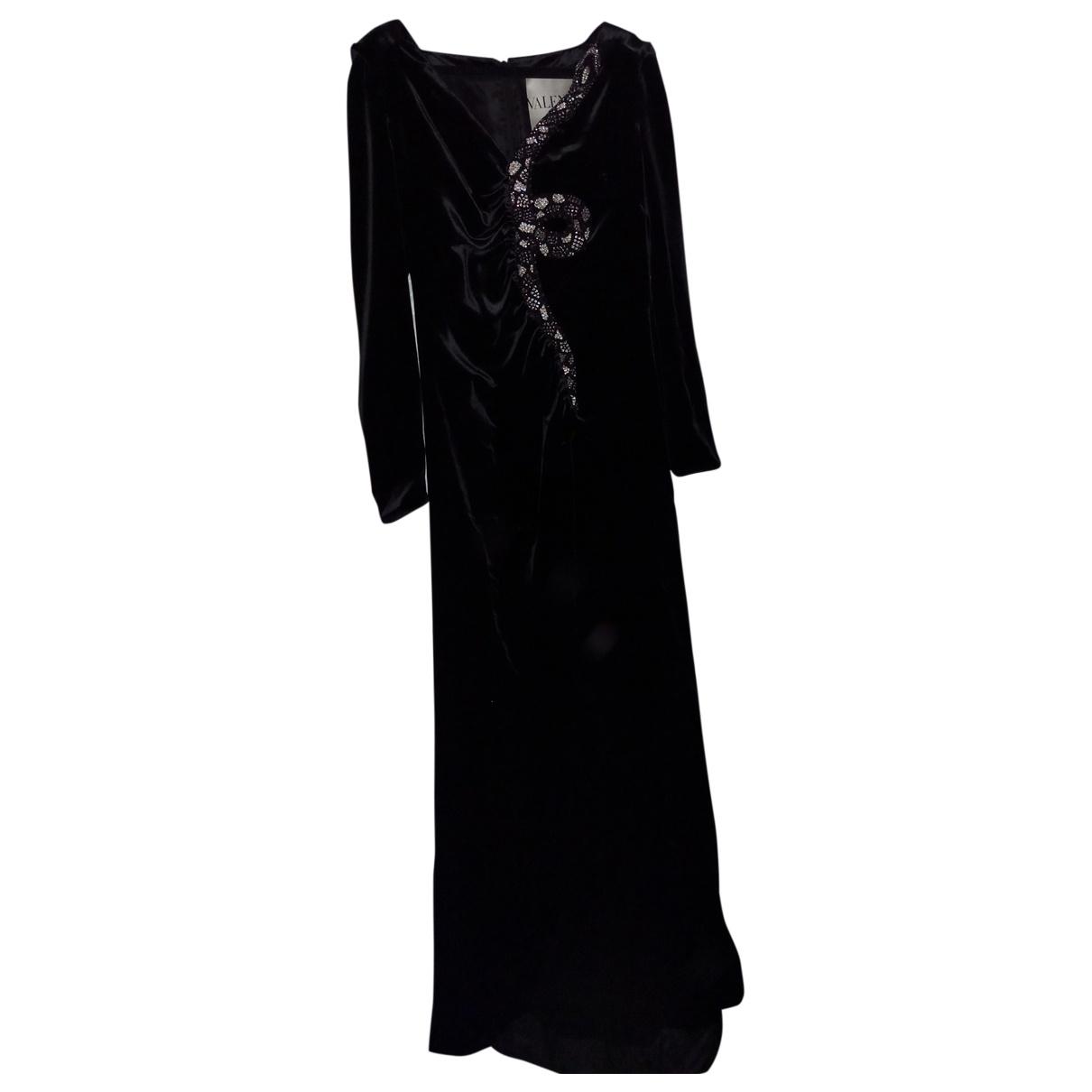 Vestido de Terciopelo Valentino Garavani