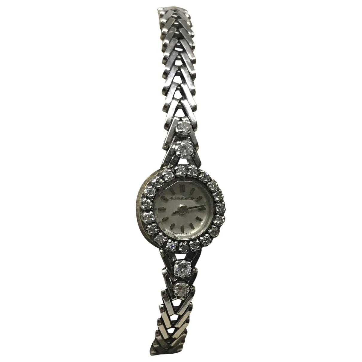 Jaeger-lecoultre Vintage Silver White gold watch for Women N