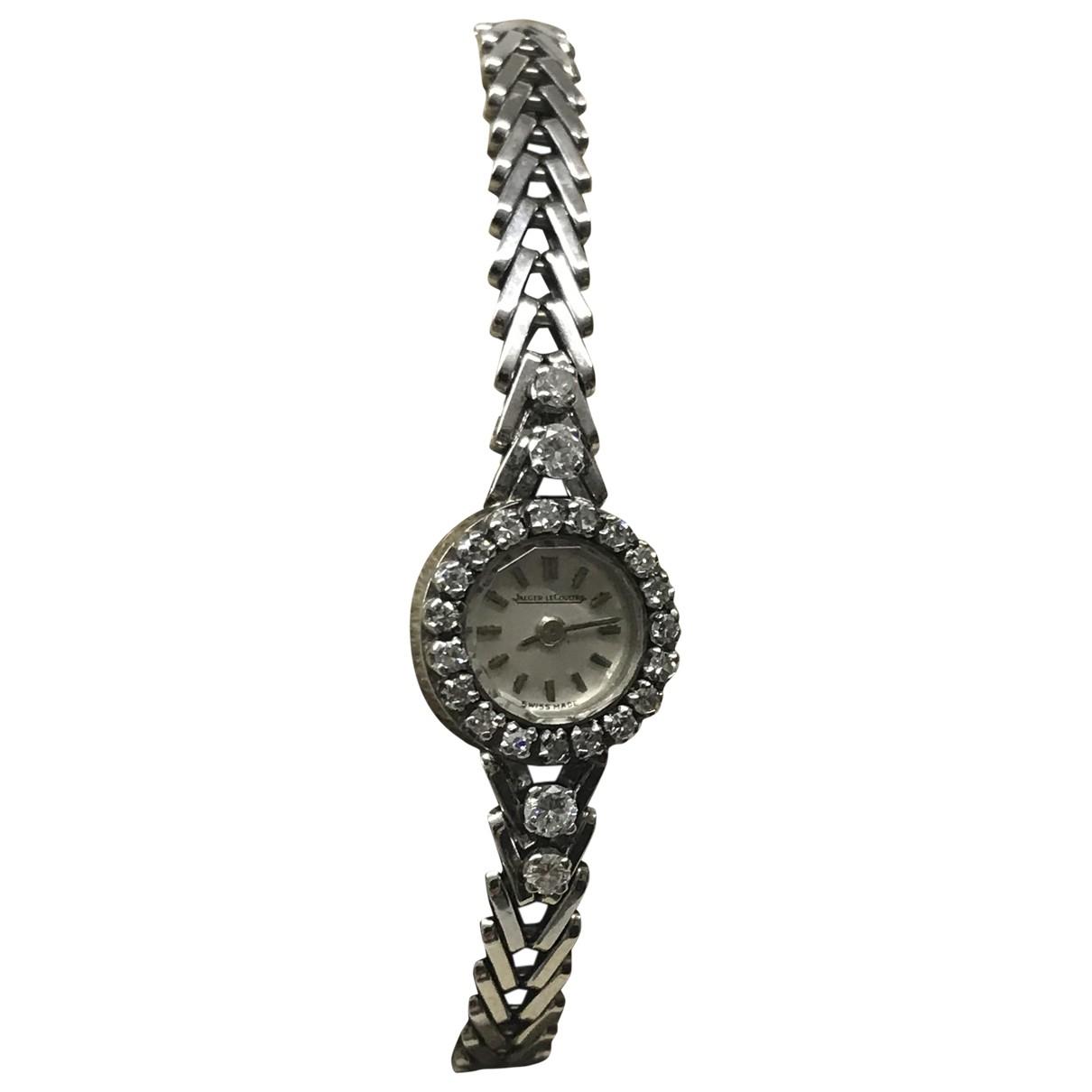 Reloj Vintage de Oro blanco Jaeger-lecoultre