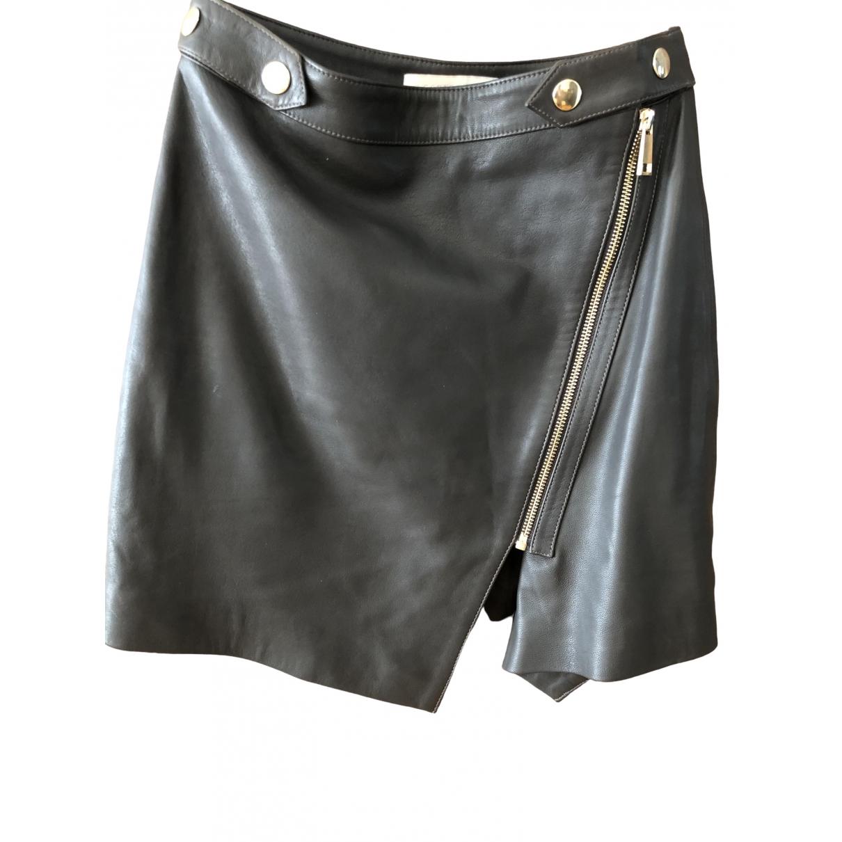 Mini falda de Cuero Vanessa Bruno