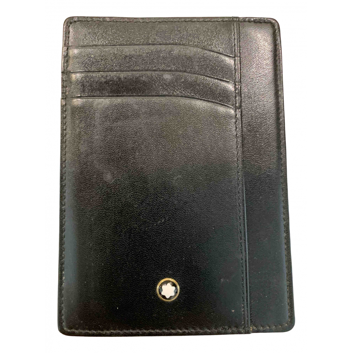 Montblanc Meisterstück Black Leather Home decor for Life & Living \N