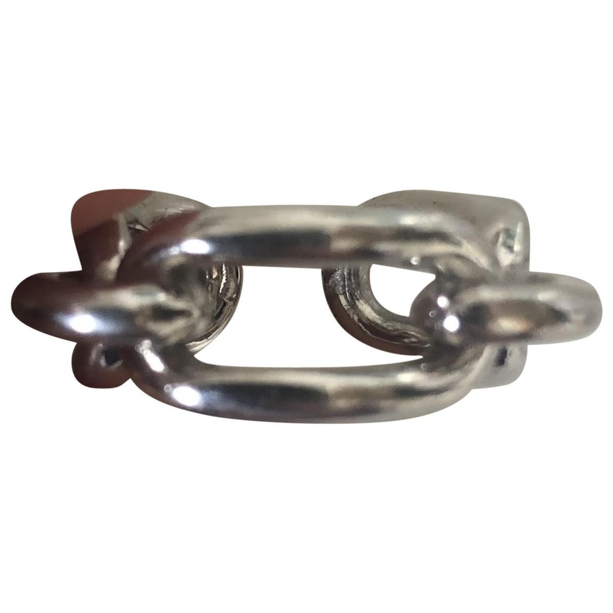 Balenciaga - Bague   pour femme en metal - argente
