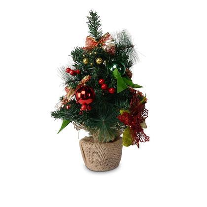 Sapin de Noël artificiel avec ornement, 45cm - LIVINGbasics ™