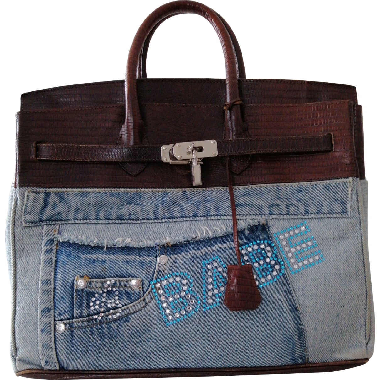 Blumarine \N Multicolour Denim - Jeans handbag for Women \N