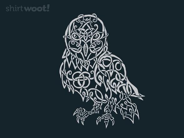 Knotty Owl T Shirt