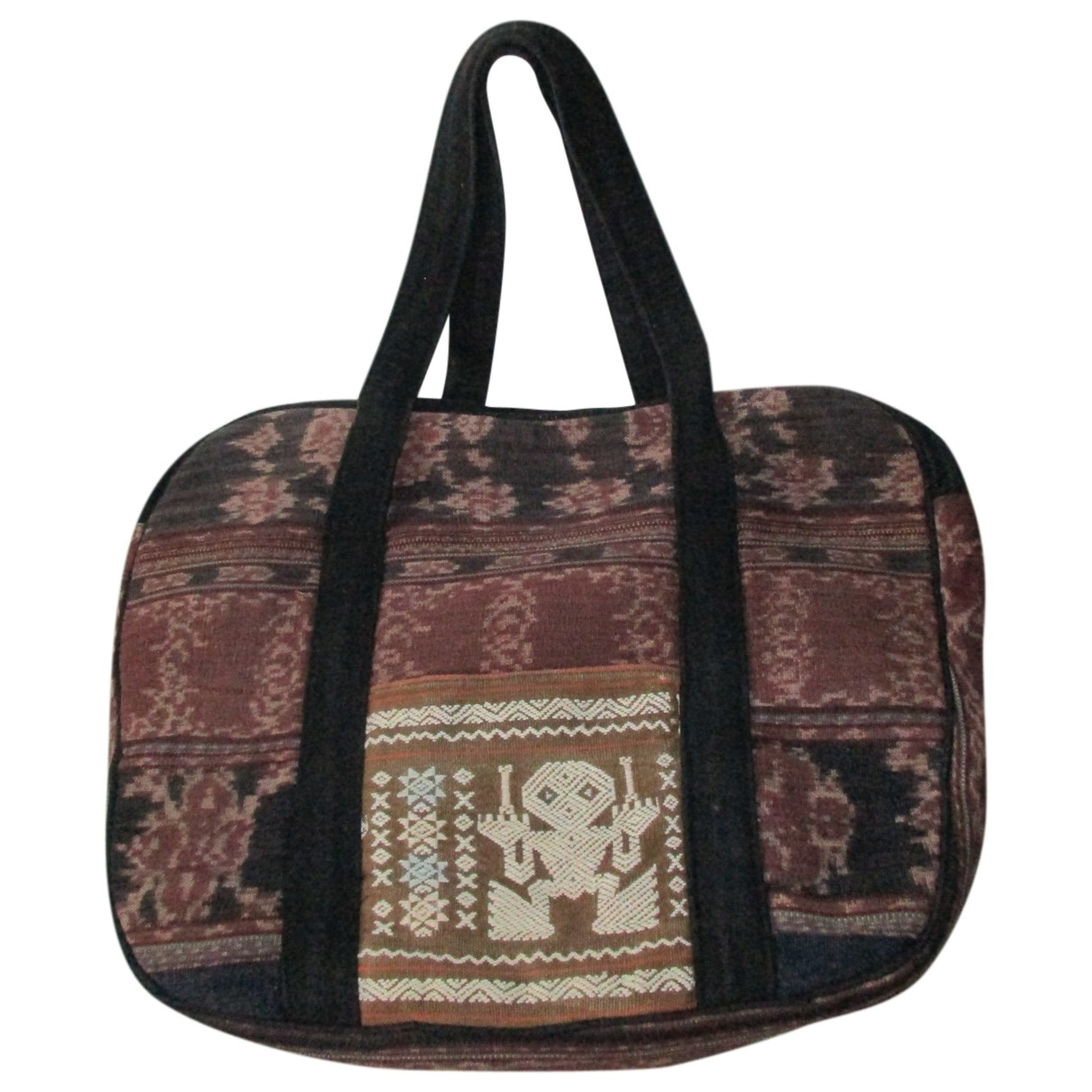 Non Signé / Unsigned \N Cotton Travel bag for Women \N