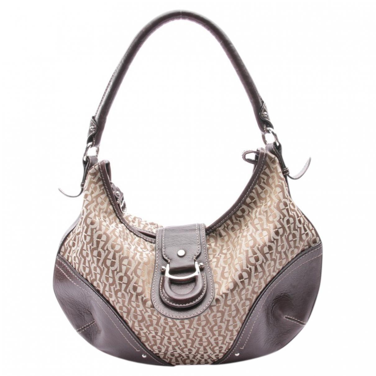 Aigner \N Brown Leather handbag for Women \N