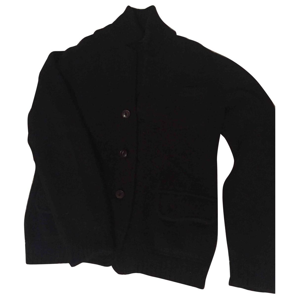 Zanone \N Pullover.Westen.Sweatshirts  in  Blau Wolle