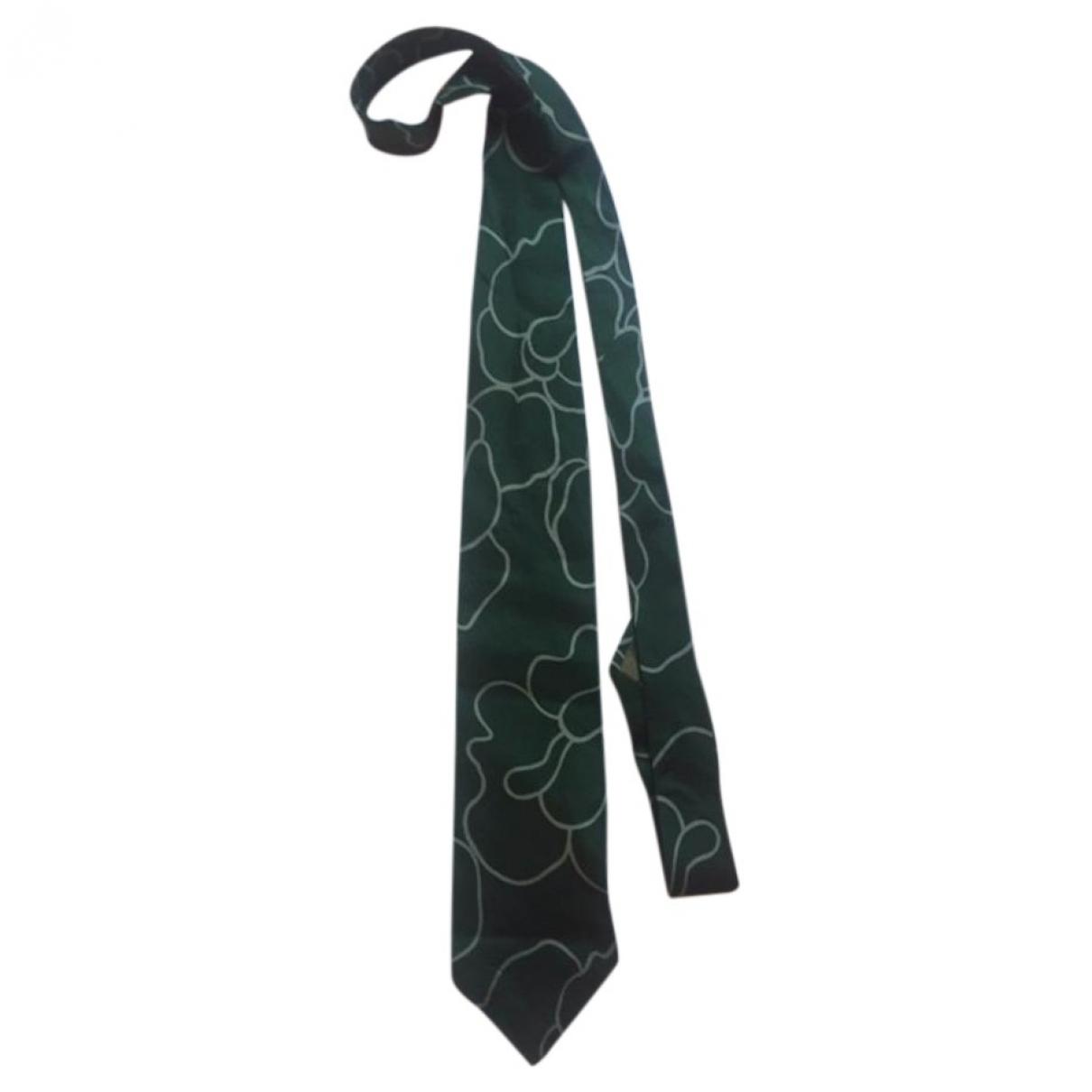 Emporio Armani \N Krawatten in  Gruen Seide