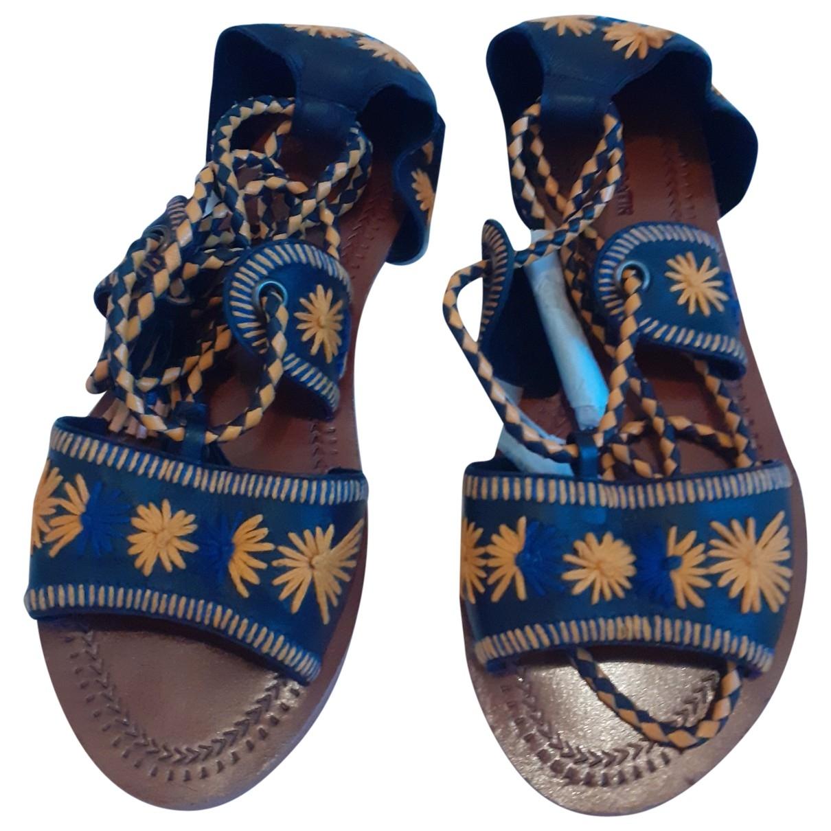 Antik Batik \N Sandalen in  Bunt Leder