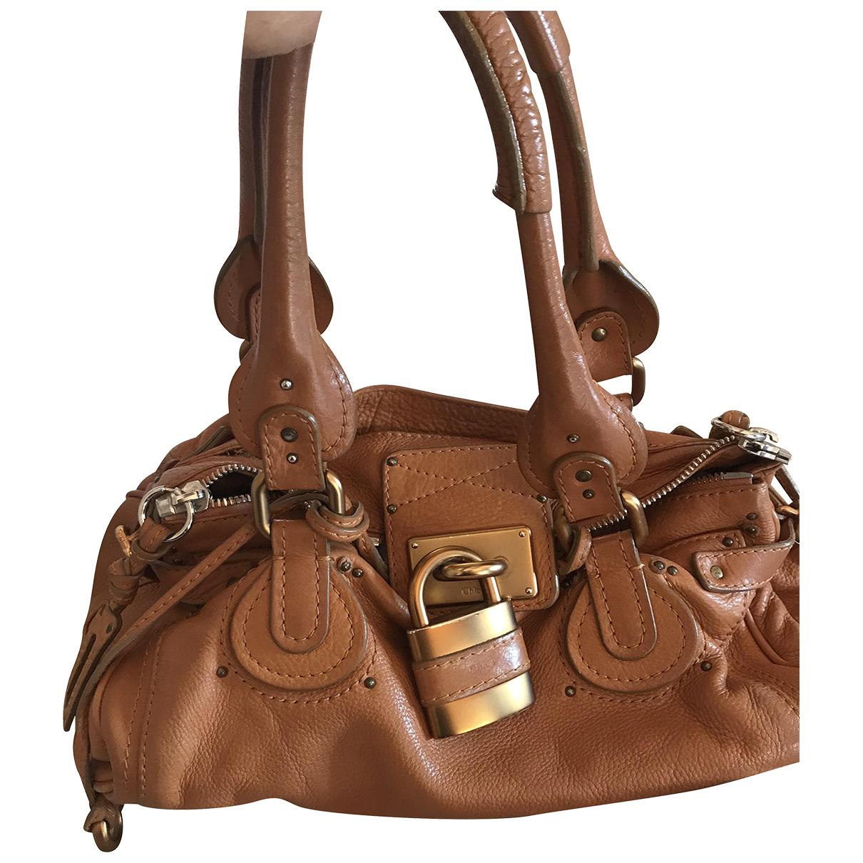Chloé Paddington Beige Leather handbag for Women \N