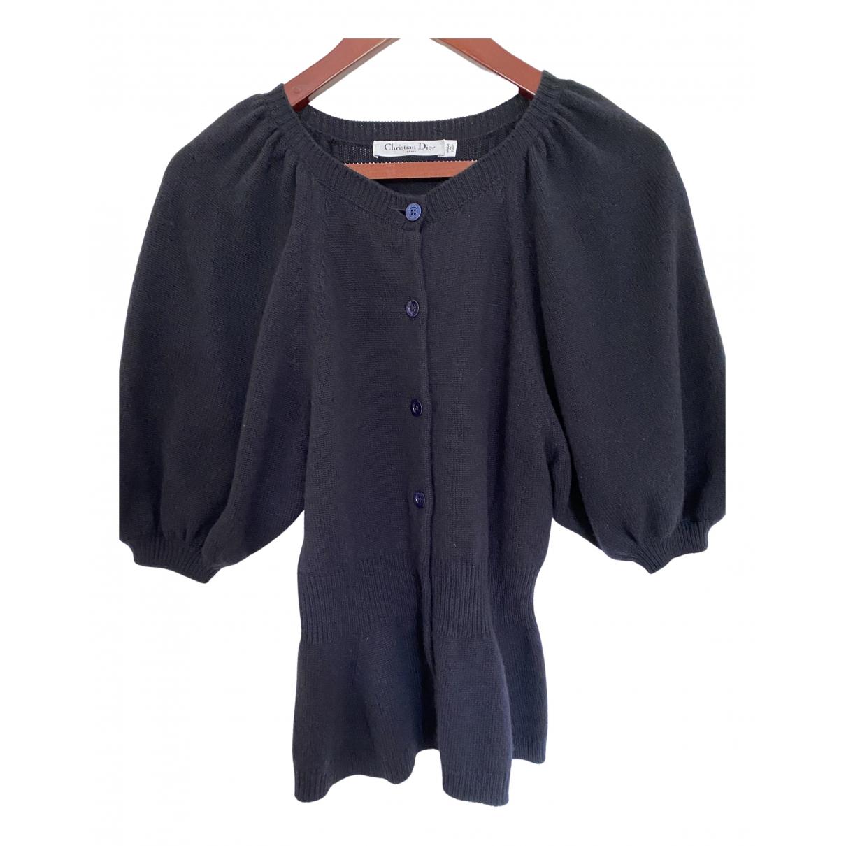 Dior N Navy Cashmere Knitwear for Women 36 FR