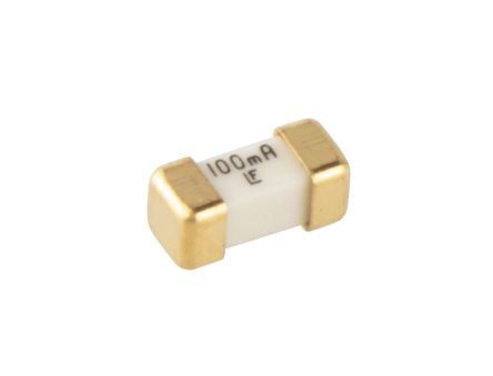 Littelfuse 100mA FF Non-Resettable Surface Mount Fuses, 125V (10)