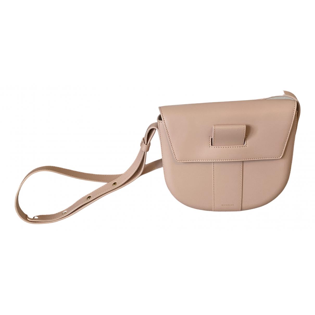 Wandler \N Pink Leather handbag for Women \N