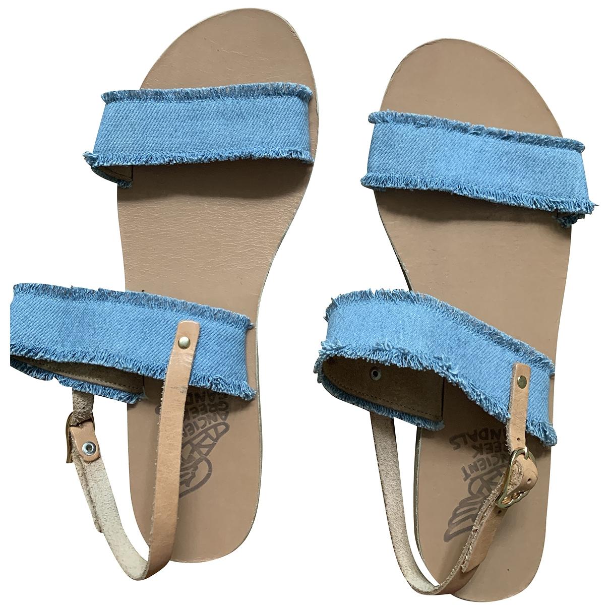 Sandalias romanas de Lona Ancient Greek Sandals