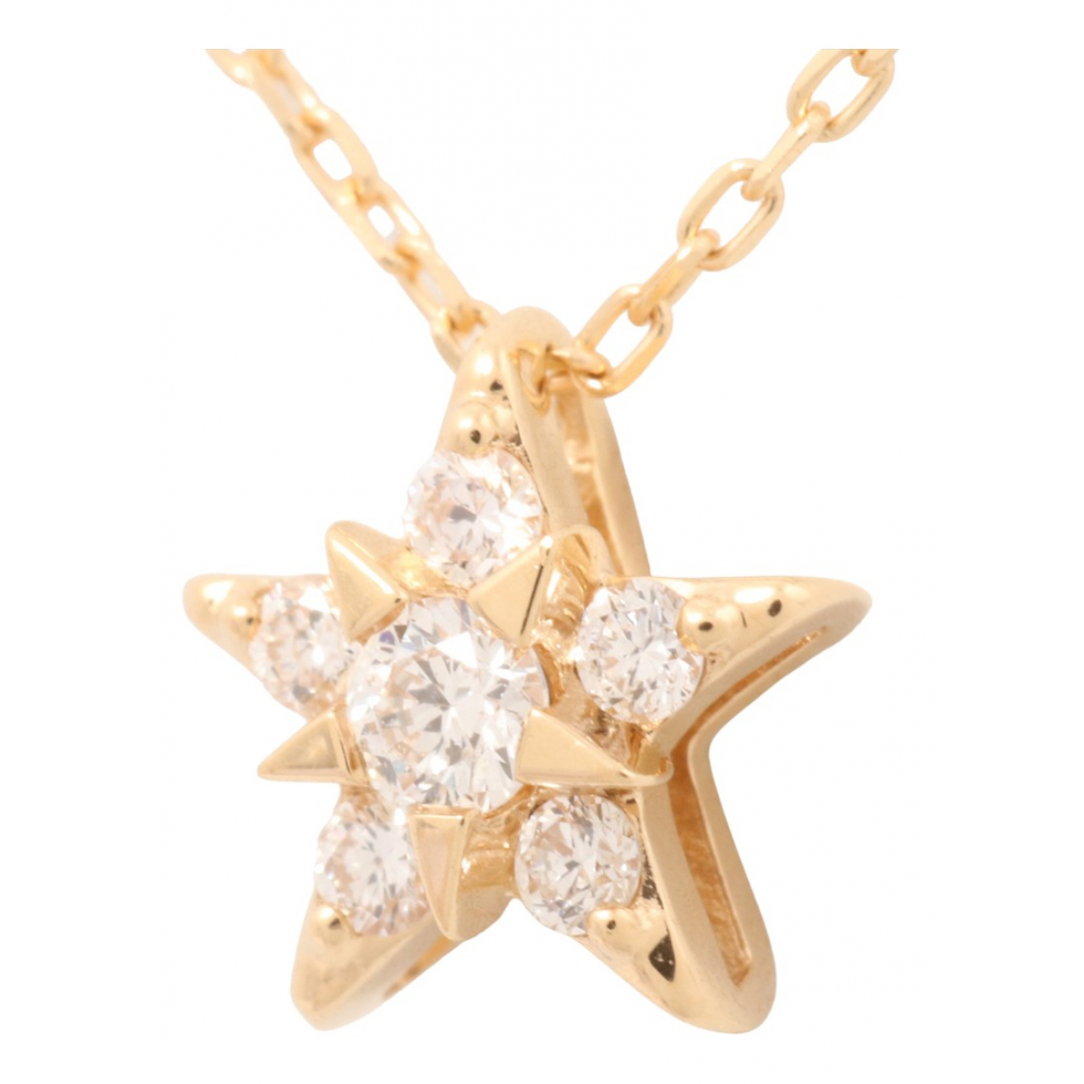 Non Signé / Unsigned N Gold Yellow gold necklace for Women N