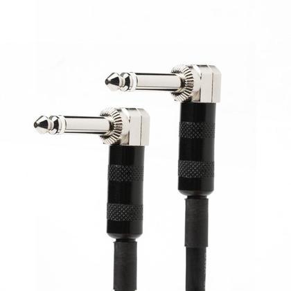 1.5Pi Câble audio 16AWG séries Premier 1/4pouce (TS ou mono phono) angle droit M/M - PrimeCables®