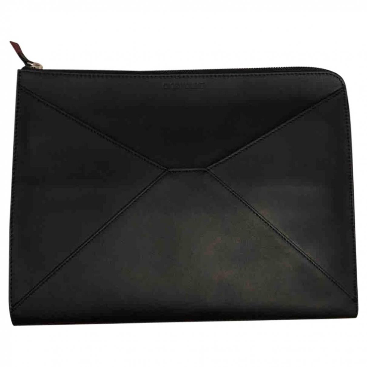 Dior Homme - Petite maroquinerie   pour homme en cuir - noir