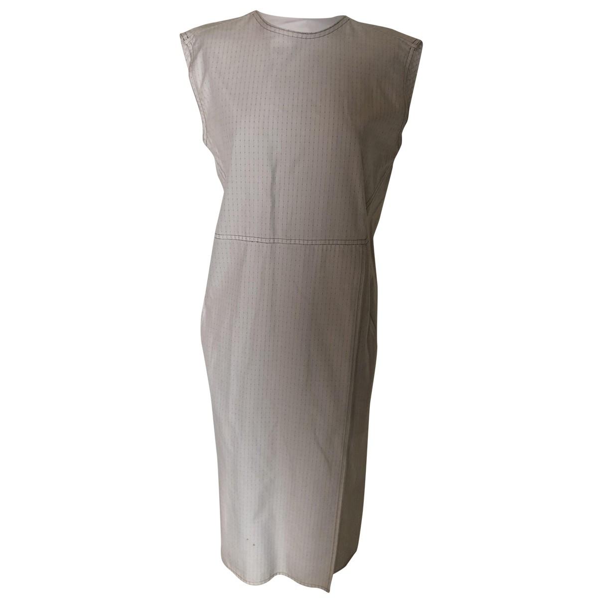 Sanlorenzo - Robe   pour femme en coton - blanc