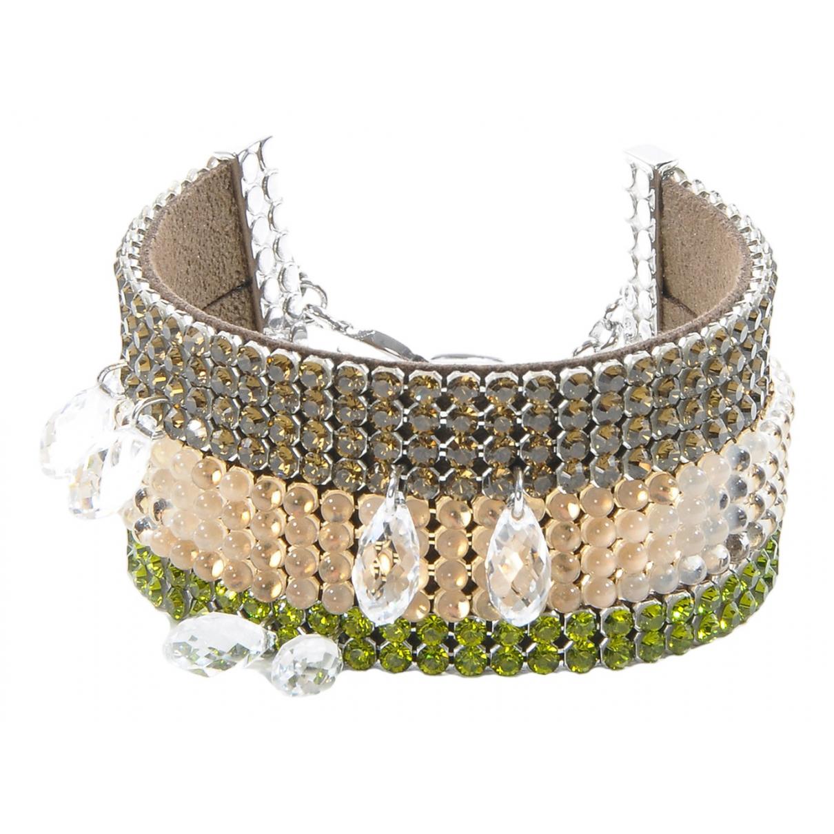 Swarovski \N Armband in  Bunt Metall