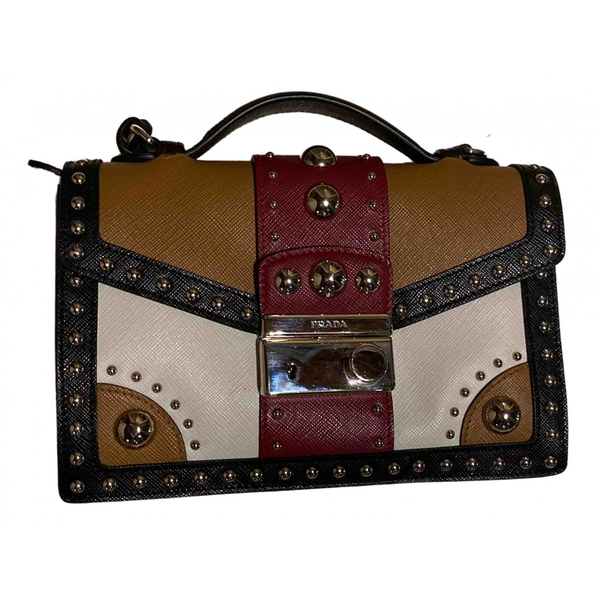 Prada \N Multicolour Leather Clutch bag for Women \N