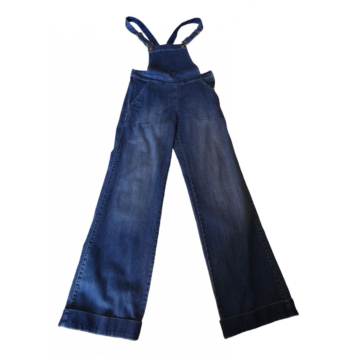 Max & Co \N Blue Denim - Jeans jumpsuit for Women 42 IT