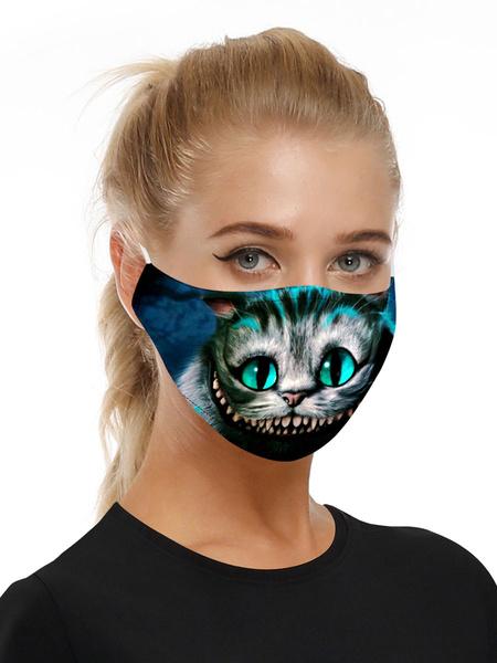 Milanoo Disfraz Halloween Accesorios de disfraces Mascara Gato de Cheshire Halloween
