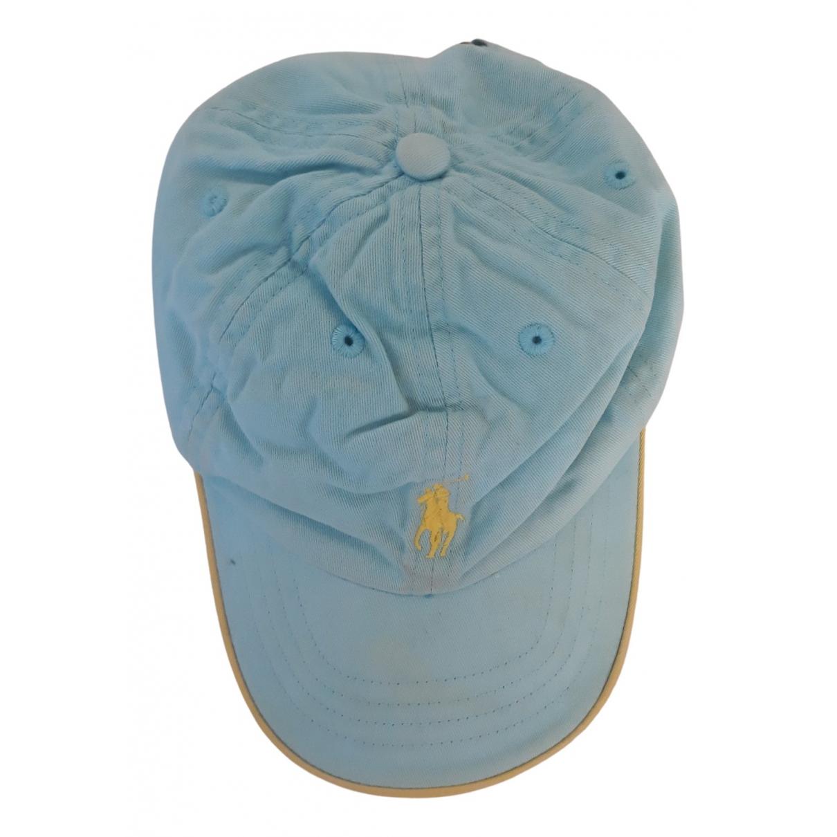 Ralph Lauren \N Blue Cotton hat & Gloves for Kids \N