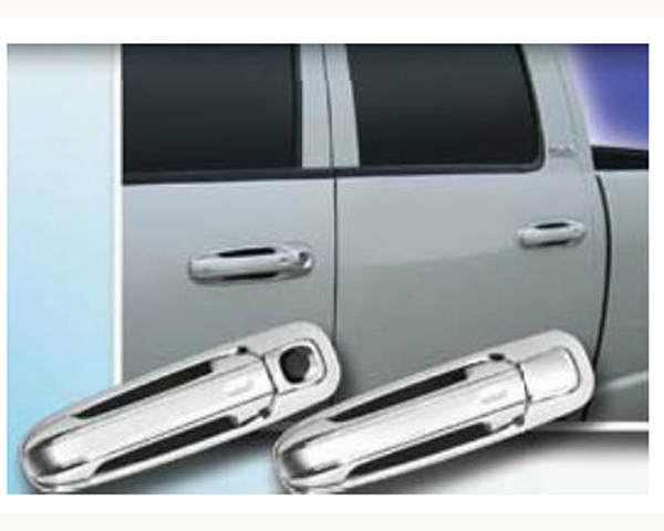 Quality Automotive Accessories ABS | Chrome Door Handle Cover Kit Dodge Ram 1500 2004