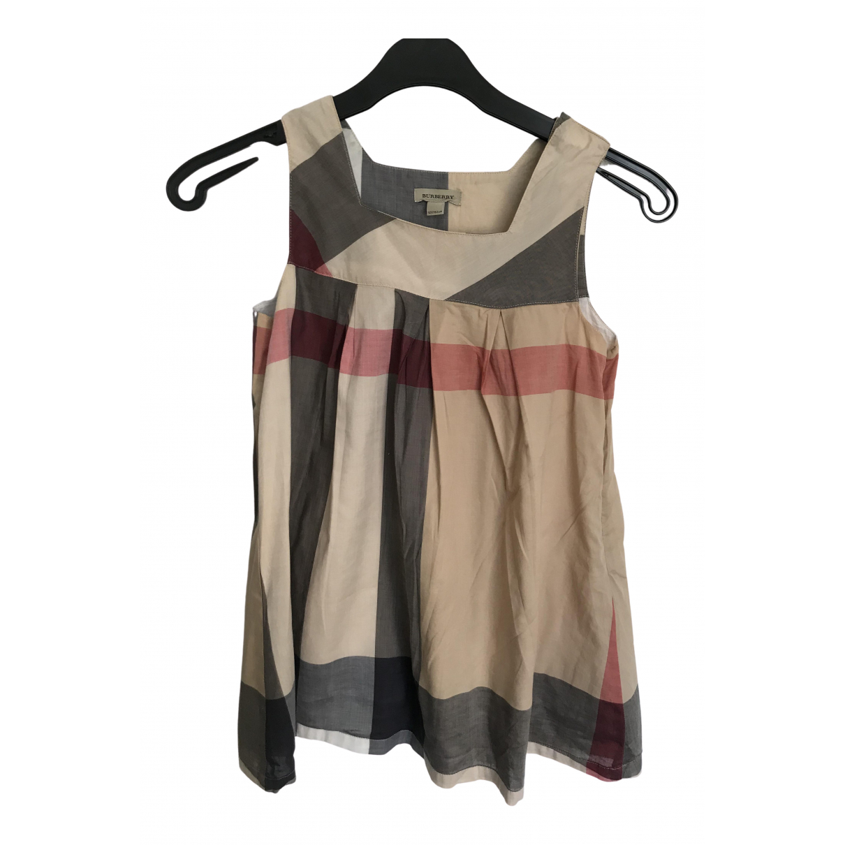 Burberry \N Beige Cotton dress for Kids 12 years - XS FR