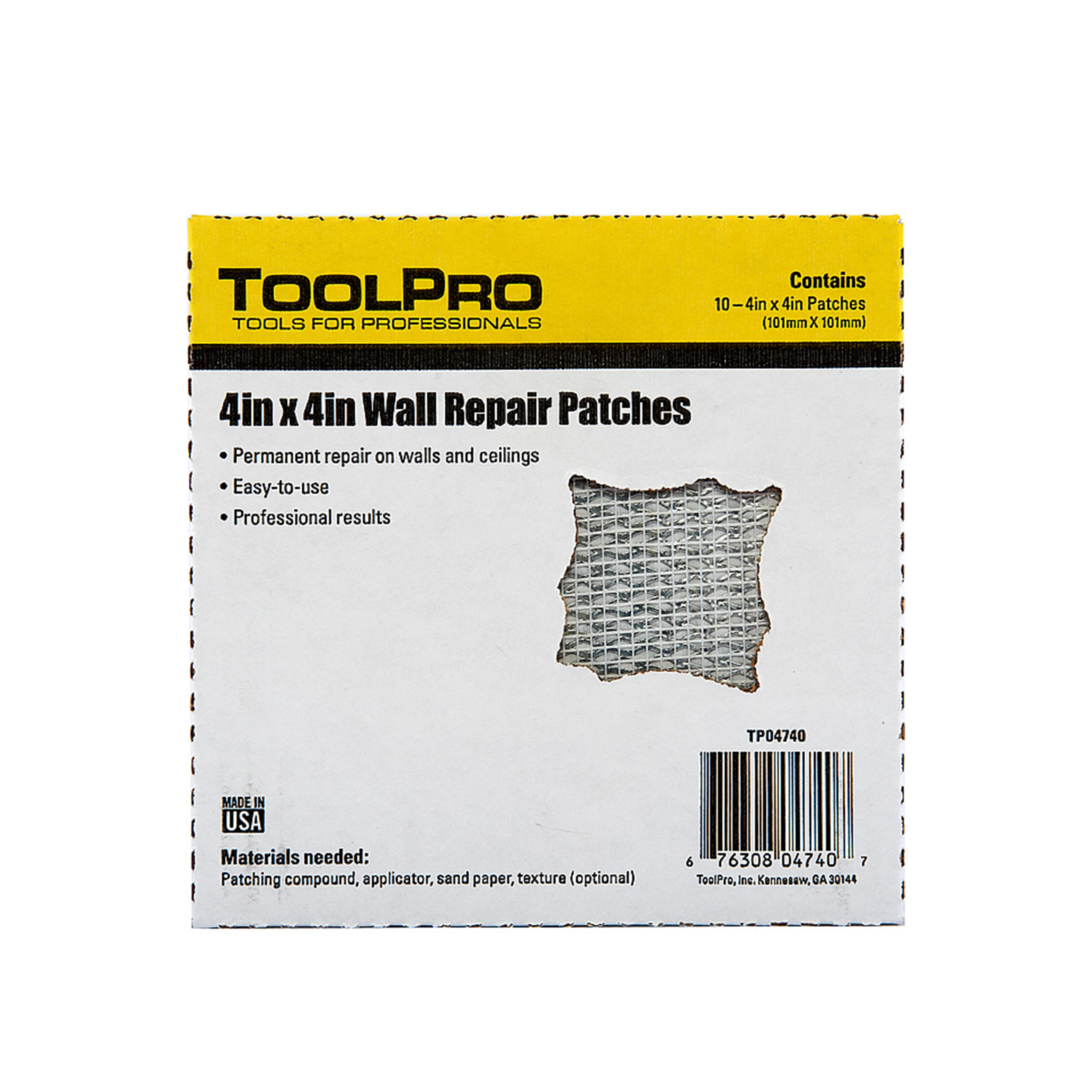 Drywall Patch, 4