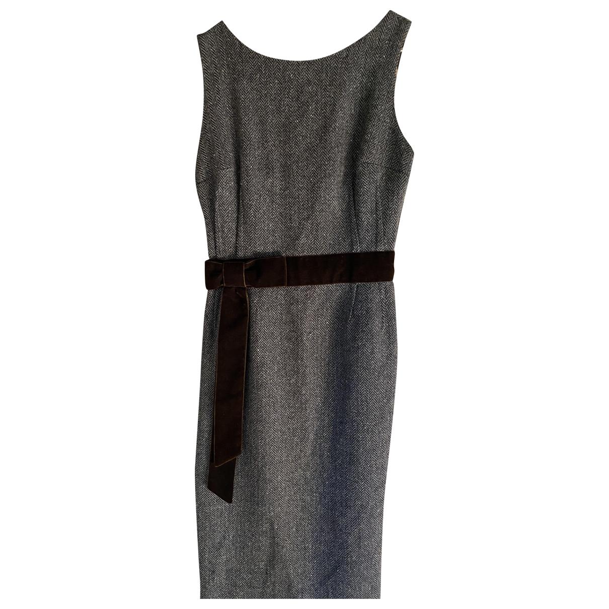 D&g \N Kleid in  Braun Wolle