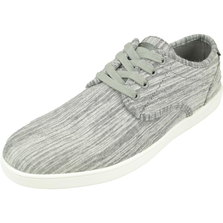 Steve Madden Men's Fandom Grey Fabric Ankle-High Sneaker - 7.5M