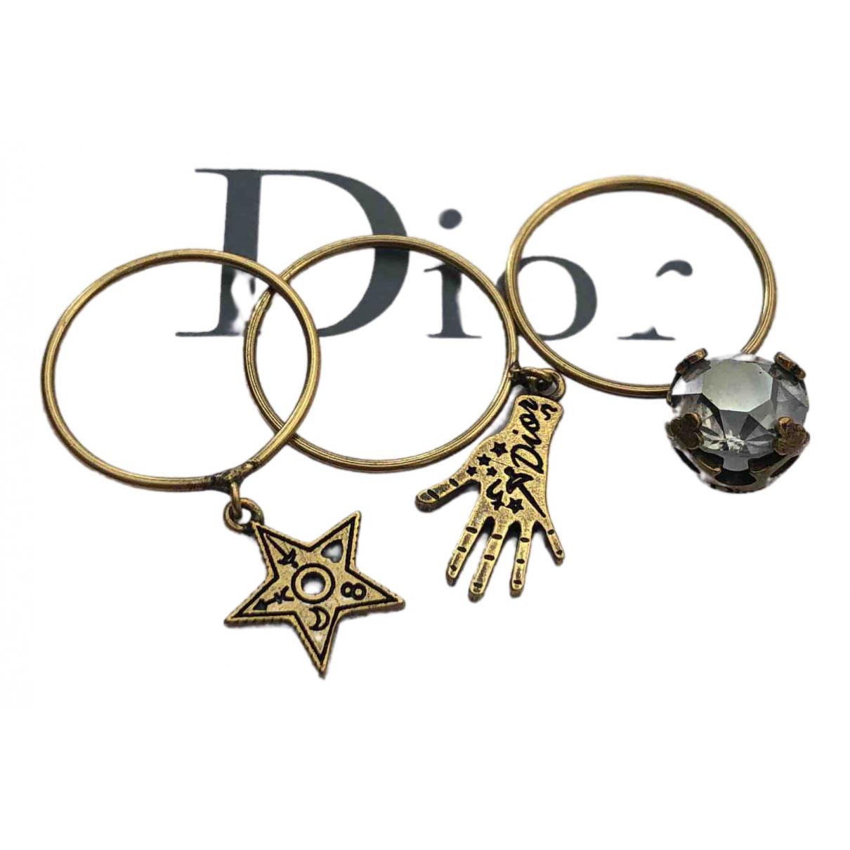 Dior - Bague Jadior pour femme en metal - marron