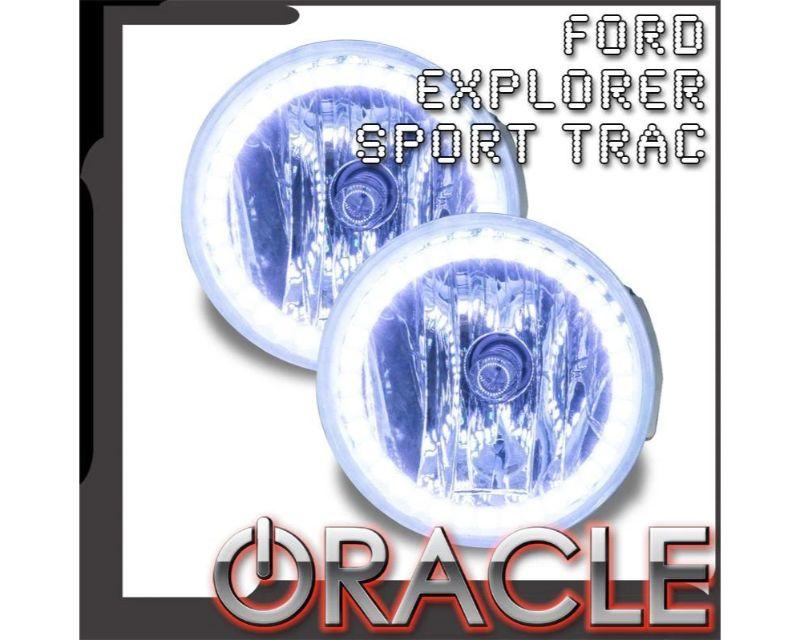 Oracle Lighting 7737-333 Pre-Assembled Fog Lights LED Halo Kit ColorSHIFT Ford Explorer 2008