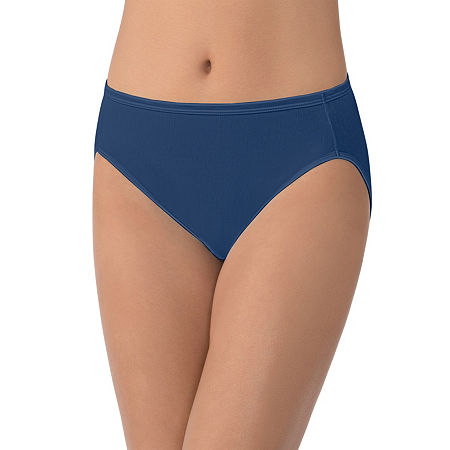 Vanity Fair Illumination High Cut Panty 0013108, 5 , Blue