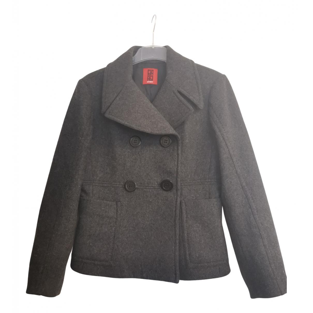 Pedro Del Hierro - Veste   pour femme en laine - gris