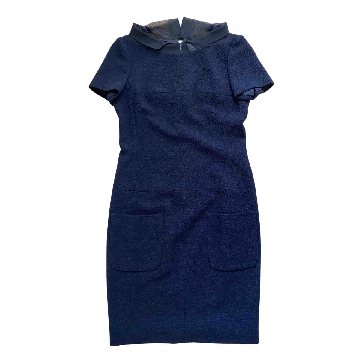 Chanel - Robe   pour femme en cachemire - bleu