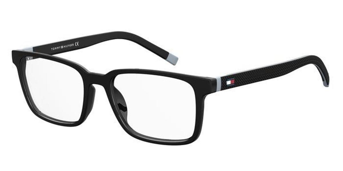 Tommy Hilfiger TH 1786 O6W Men's Glasses Black Size 51 - Free Lenses - HSA/FSA Insurance - Blue Light Block Available