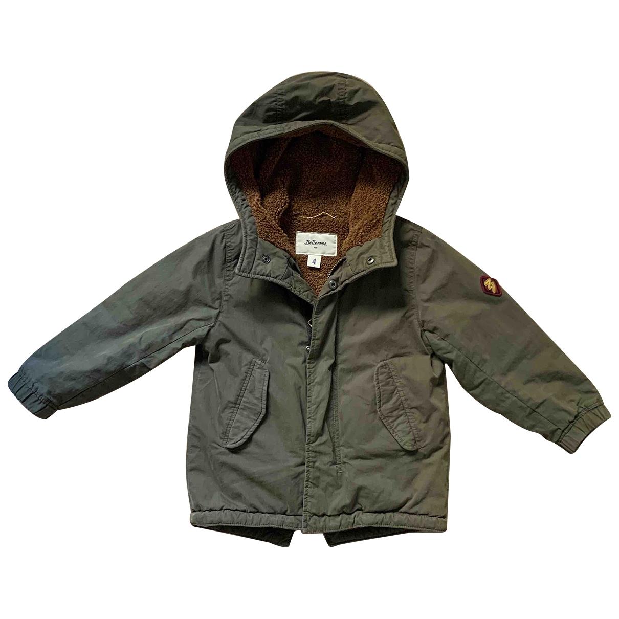 Bellerose - Blousons.Manteaux   pour enfant en coton - vert