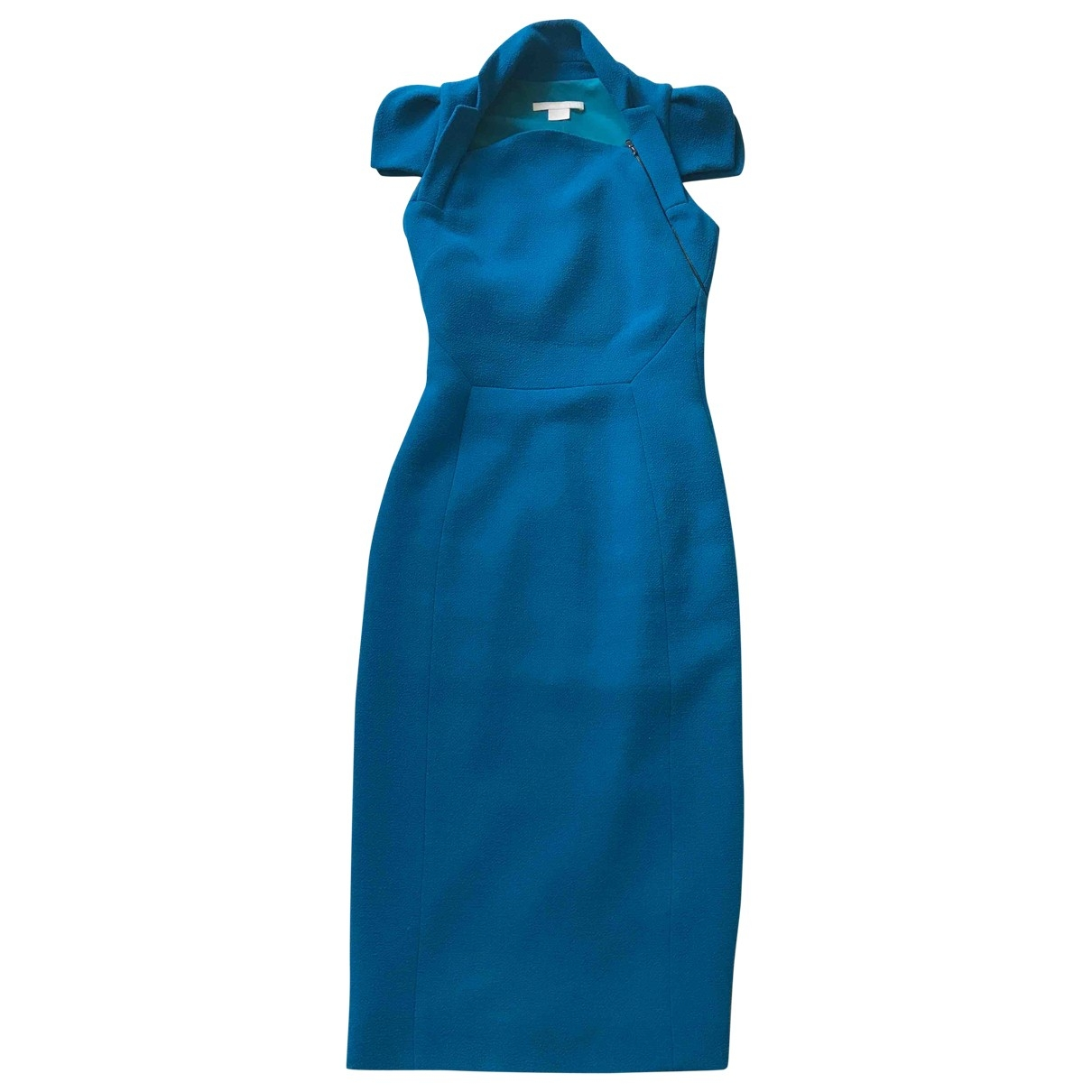 Antonio Berardi \N Turquoise Wool dress for Women 38 IT