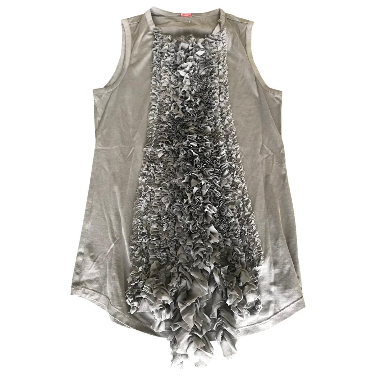 Dondup \N Grey Cotton  top for Women S International