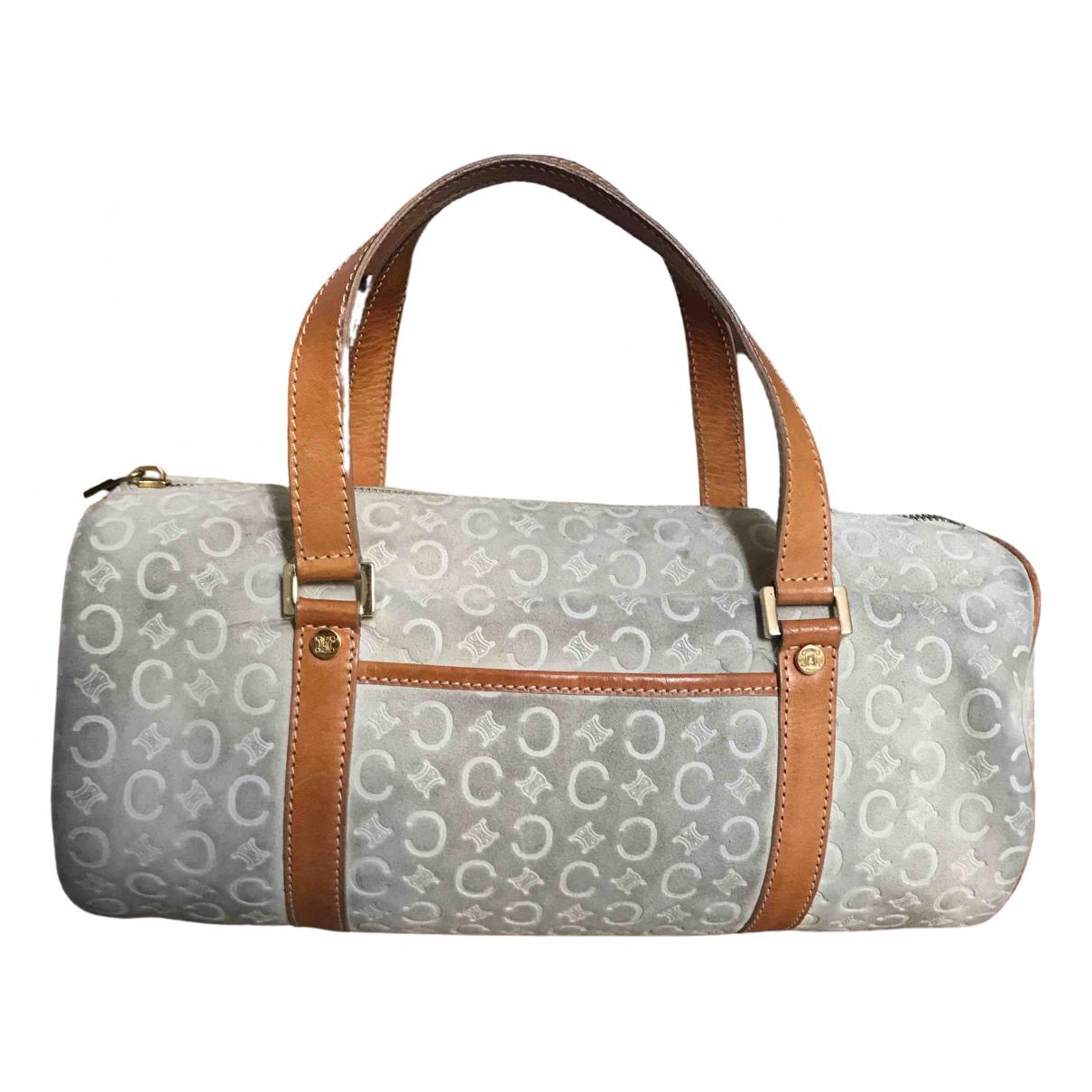 Celine \N Ecru Suede handbag for Women \N