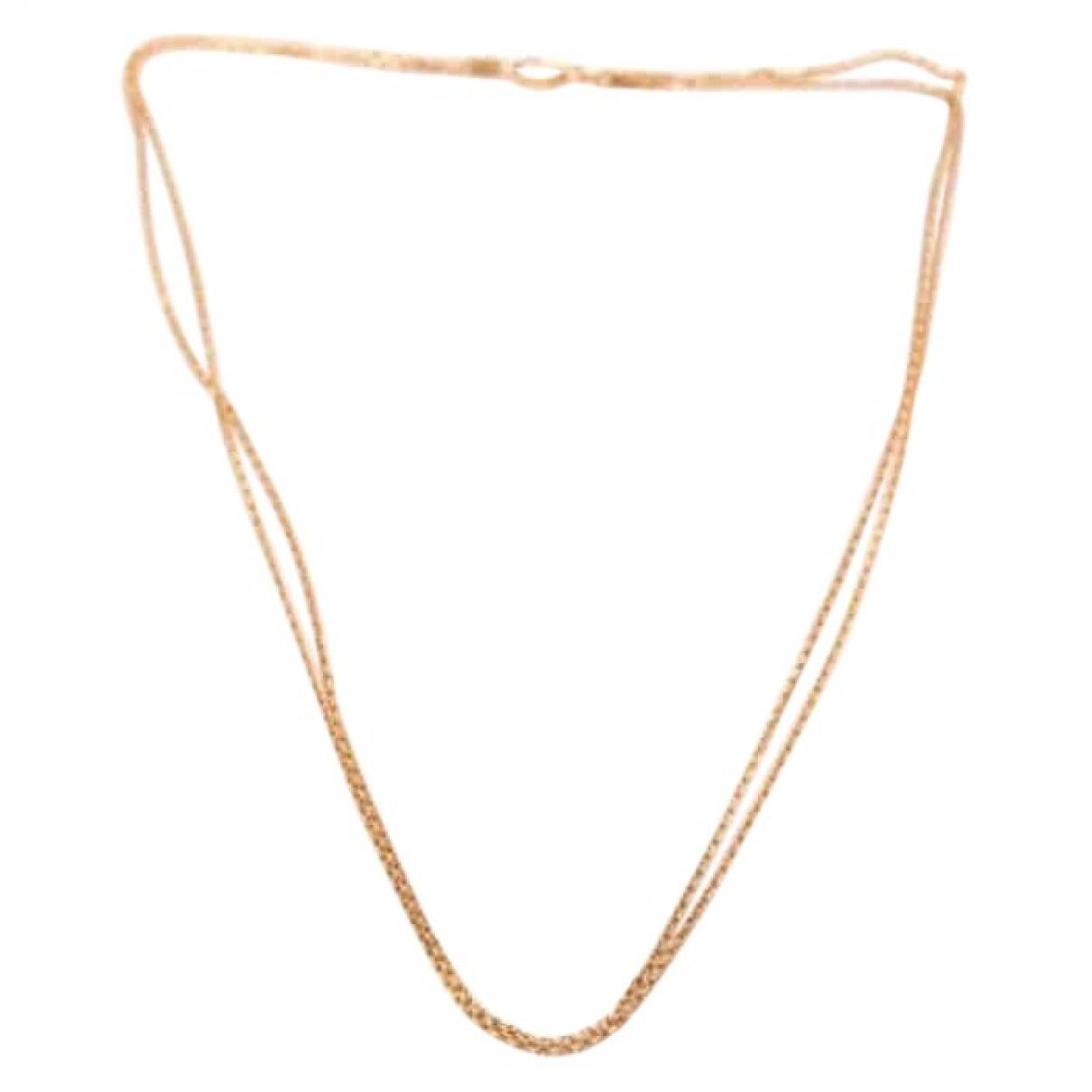 Chopard - Collier   pour femme en or rose - rose